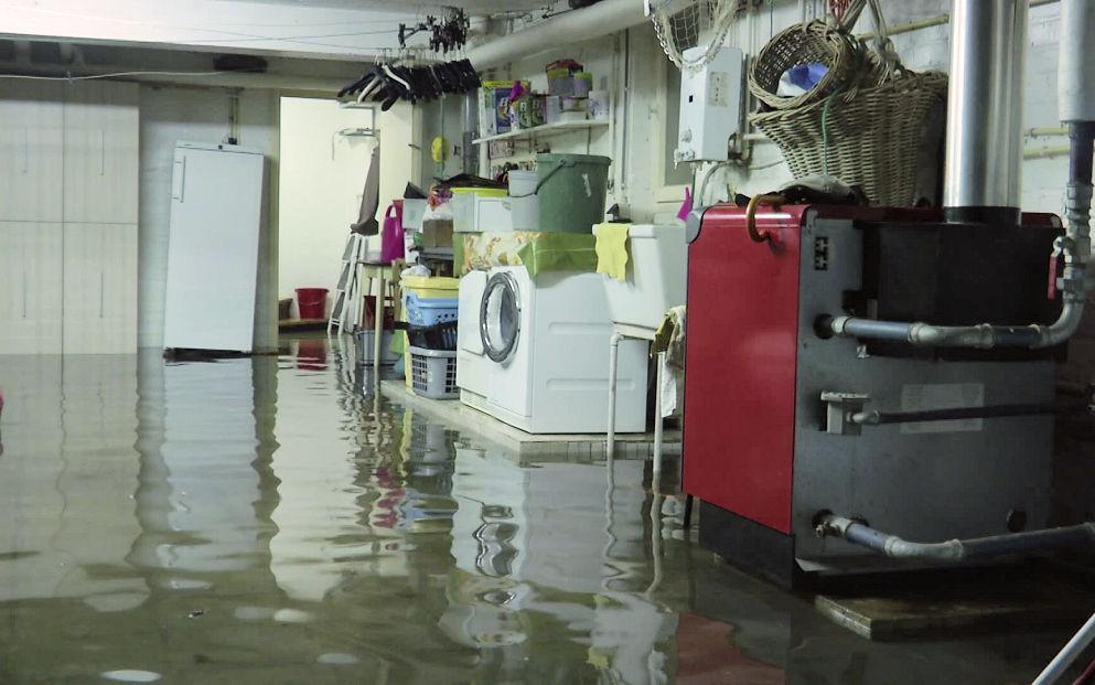 De zondvloed van 10 augustus in De Panne