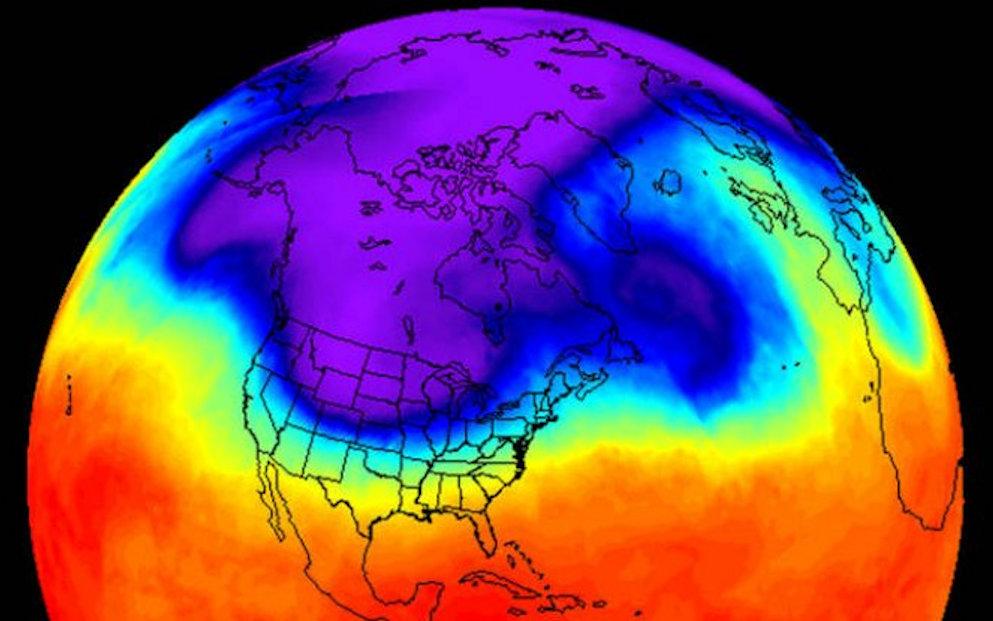 De Polar Vortex en een SSW