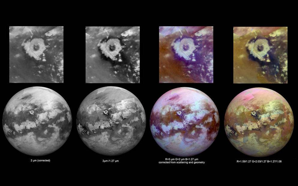 Maar eens in de 1000 jaar regen op maan Titan