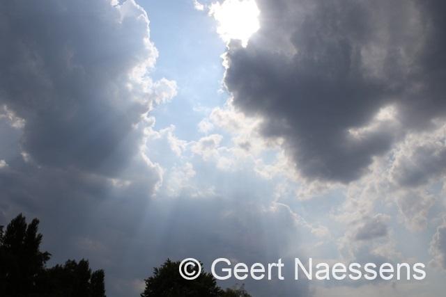 Laatste hete dagen, maar … (felle) (onweers)buien liggen op de loer!