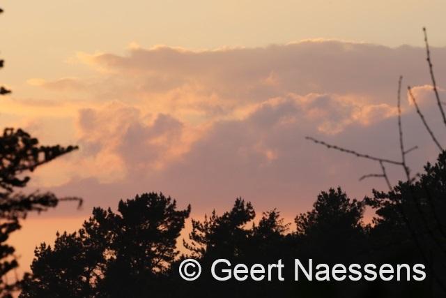 Wisselvallige dag; wolken, zon en buien